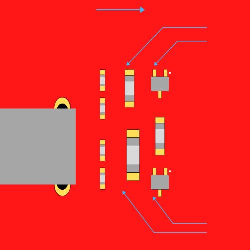 Nieprawidłowe rozmieszczenie komponentów układu scalonego